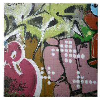 Swiss Graffiti Ceramic Tile