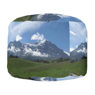 Swiss Landscape Pouf