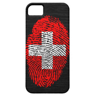 Swiss touch fingerprint flag barely there iPhone 5 case