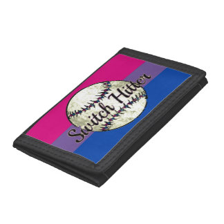 Switch Hitter Ball Playing Bisexual Wallet