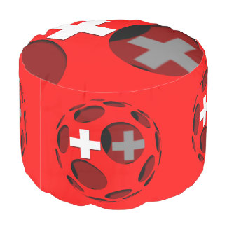 Switzerland #1 pouf