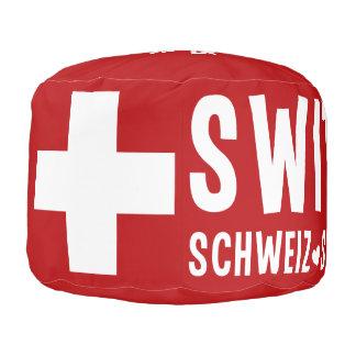 SWITZERLAND custom pouf
