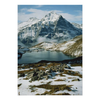 Switzerland, Grindelwald, Bernese Alps, View Poster