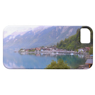 Switzerland, Lakeside village, Thunersee iPhone 5 Cases