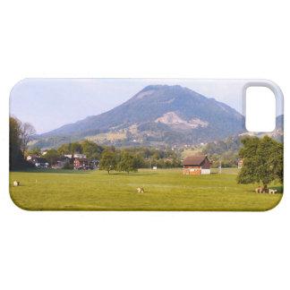 Switzerland, Lucerne pasture and village iPhone 5 Cases