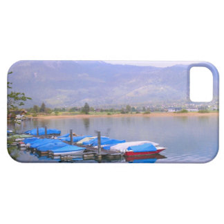 Switzerland, Lucerne village marina iPhone 5 Cover
