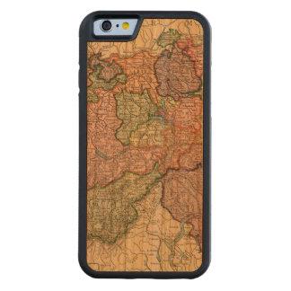 Switzerland Map iPhone 6 Cherry Wood Case Cherry iPhone 6 Bumper Case