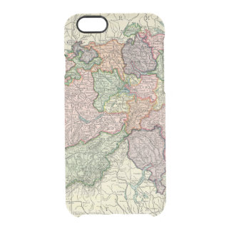 Switzerland Map iPhone 6 Clearly Deflector Clear iPhone 6/6S Case