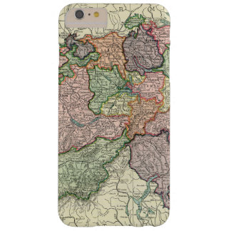 Switzerland Map iPhone 6 Plus Barely There Barely There iPhone 6 Plus Case