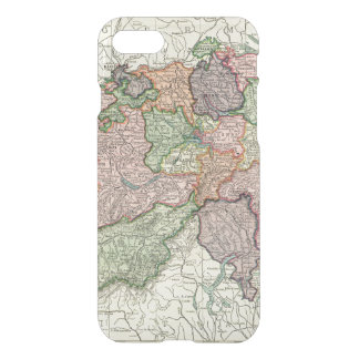 Switzerland Map iPhone 7 Clearly Deflector iPhone 7 Case