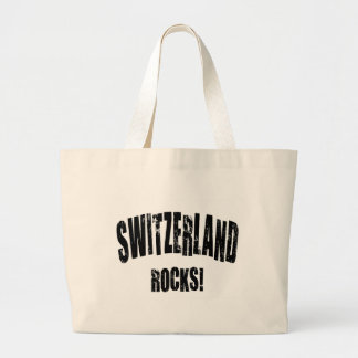 Switzerland Rocks Canvas Bag
