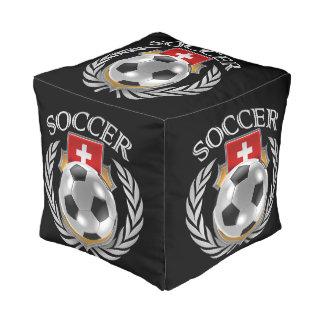 Switzerland Soccer 2016 Fan Gear Pouf