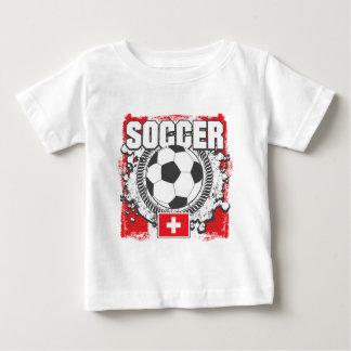 Switzerland Soccer Baby T-Shirt