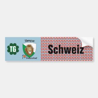 Switzerland Svizzera Suisse Thurgau autosticker Bumper Sticker