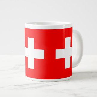 Switzerland - Swiss Flag Jumbo Mug