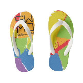 SWMO: Colorful Coll Summer Flip Flops Thongs