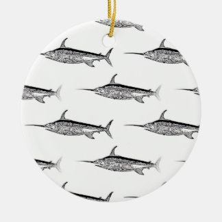 Swordfish Hanging Ornament
