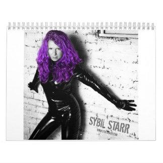 Sybil Starr 2012 Calendar
