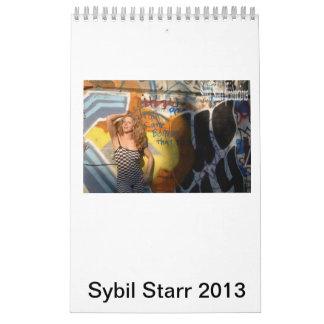 Sybil Starr Calendar 2013