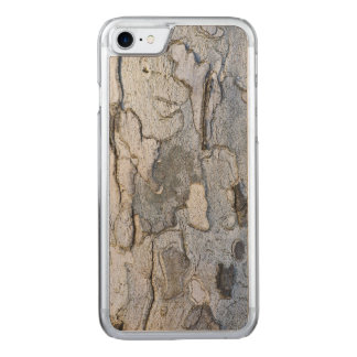 Sycamore Tree Bark Pattern Carved iPhone 8/7 Case