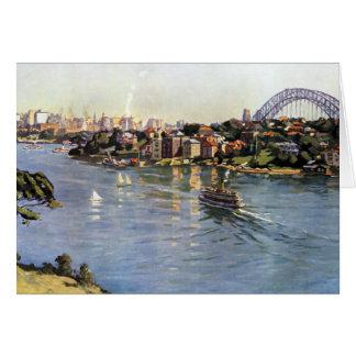 Sydney Harbour Australia Card