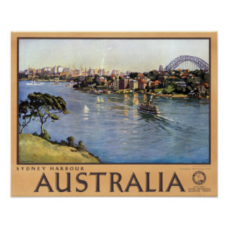 Sydney Harbour Australia Poster