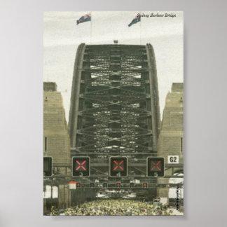Sydney Harbour Bridge - 75th Birthday Poster