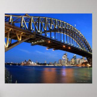 Sydney Harbour Bridge, Sydney Opera House and Poster