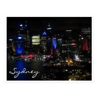 sydney night vivid postcards
