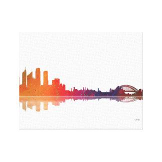 Sydney NSW Skyline Canvas Print