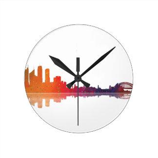 Sydney NSW Skyline Clocks