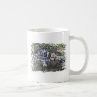 Sydney Oriental Gardens Waterfall Basic White Mug