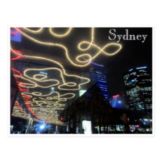 sydney vivid light lines postcards