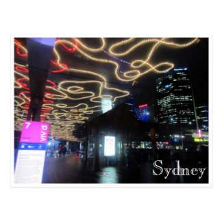 sydney vivid light paths post cards