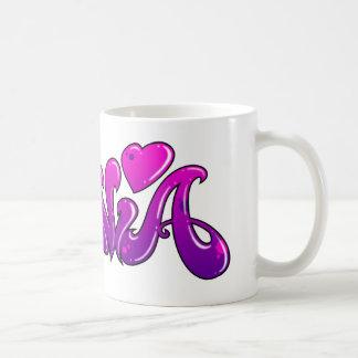 SYLVIA Graffiti Name - Coffee Mug