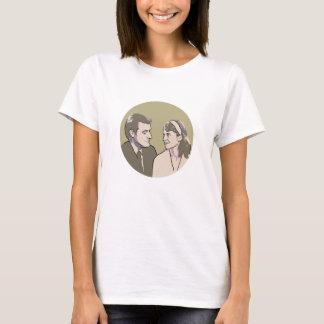 Sylvia Plath and Ted Hughes T-Shirt