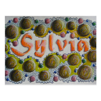 Sylvia Postcard