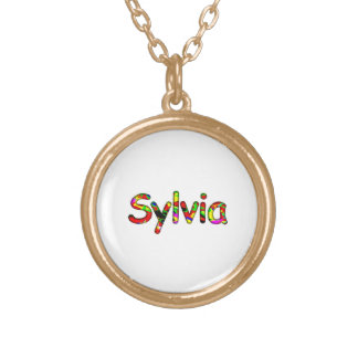Sylvia's Gold Plated Necklace