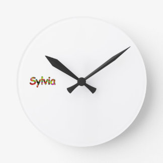 Sylvia's Round Clock