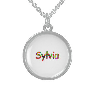 Sylvia's Sterling Silver Necklace