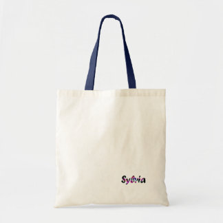 Sylvia's tote bag