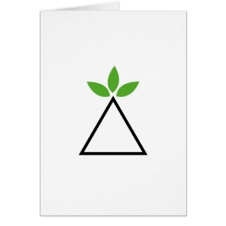 Symbol for ecological balance card