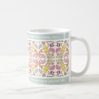 Symmetry Pastelcolor Cute Cats Basic White Mug