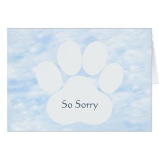 Sympathy Dog Card