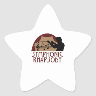 Symphonic Rhapsody Star Sticker