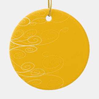 Symphony Swirl Christmas Ornament