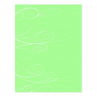 Symphony Swirl Postcard