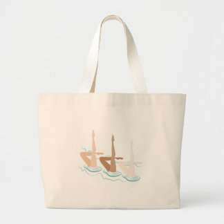 Synchronised Swimming Large Tote Bag