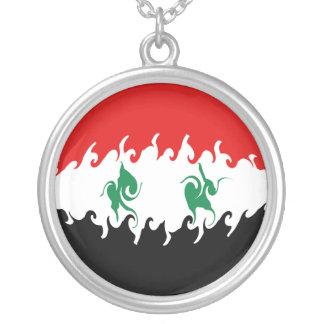 Syria Gnarly Flag Pendants