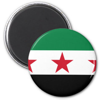 syria opposition 6 cm round magnet